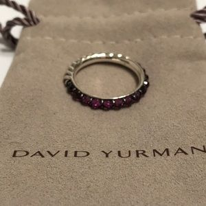David Yurman Berries Ring With Rhodolite Garnet